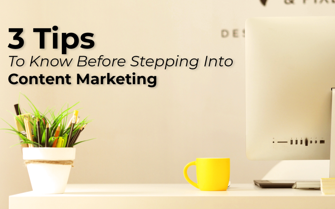 3 Tips To Know Before Stepping Into Visual Content Marketing
