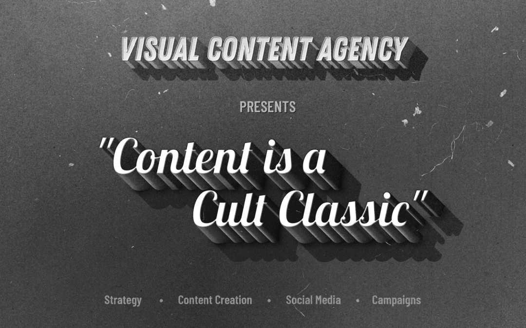 October Theme: Content is a Cult Classic