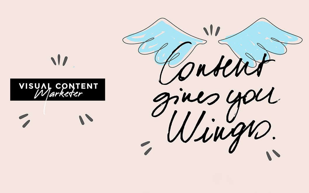 July Theme: Content Gives You Wings