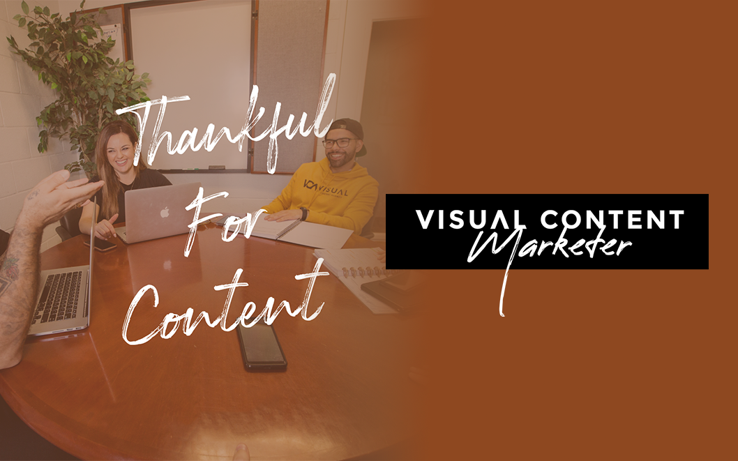 November Theme: Content We're Thankful For